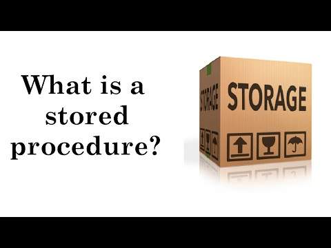 IQ18: What is a stored procedure?