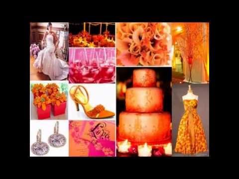 Wedding color decorations ideas