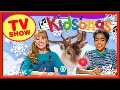 Best Kids Christmas Songs Special |50 Minutes| Rudolph, Frosty & Santa | Kidsongs TV Show |PBS Kid