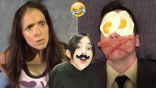 TRY NOT TO LAUGH - Funniest Eh Bee Family Vines and Videos Compilation * Impossible*