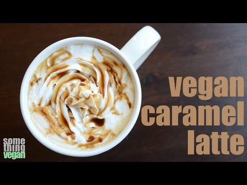 caramel latte Something Vegan