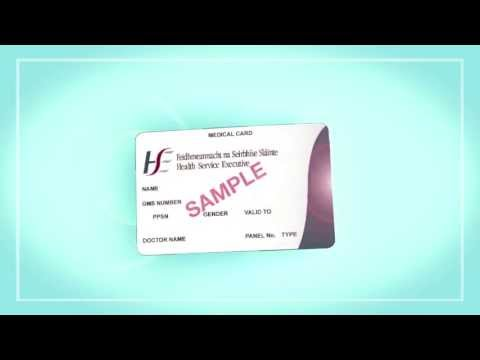 How to fill in the Medical Card Application Form