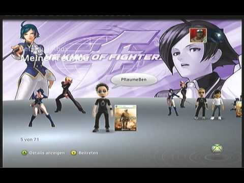 FREE XBOX 360 PREMIUM-THEME #10 - KING OF FIGHTERS XII