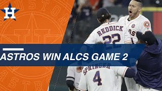 Watch the eventful 9th inning of ALCS Game 2