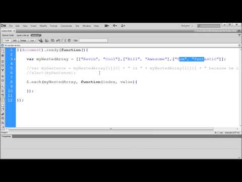 jQuery Tutorial: Using Loops in jQuery -HD-