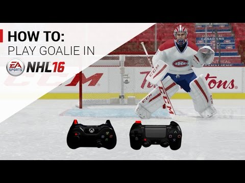 NHL 16: How To Play Goalie Tutorial Trailer