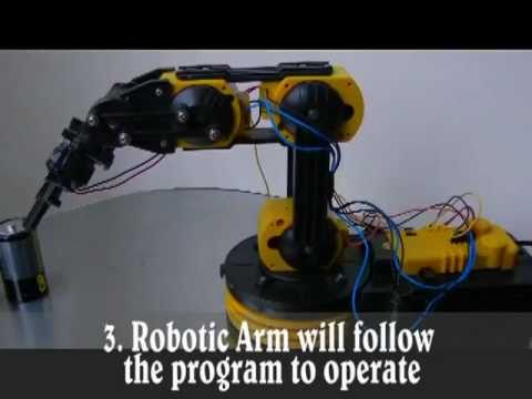 Programmable Robotic Arm plus Wired Control