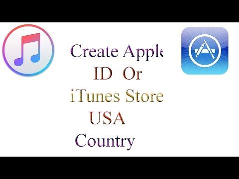 How to Create Apple ID in usa country with iTunes PC