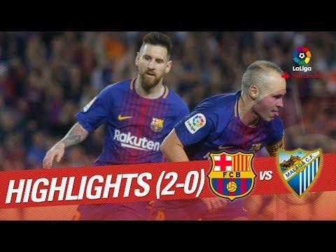 Resumen de FC Barcelona vs Málaga CF (2-0)