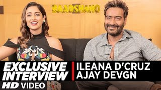 Exclusive Interview with Ajay Devgn & Ileana D