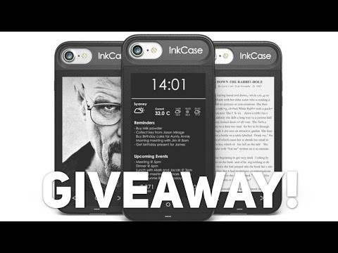 InkCase i7 Giveaway! [CLOSED]