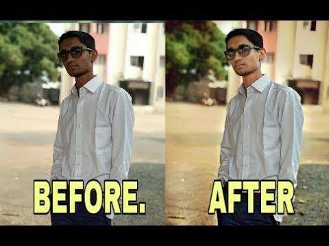 अपनी PHONE की PHOTOS को  DSLR जैसी बनायें बस 5 मिनट में {Hindi}