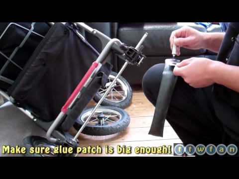 Buggy Puncture Repair! A step-by-step D.I.Y Guide For Mummies :)