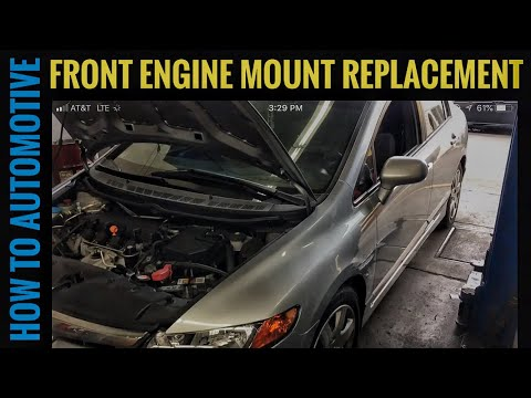 How to Replace the Front Engine Mount on a 2007 Honda Civic