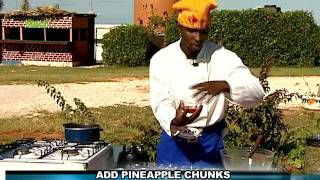 Jerk Chicken with Pineapple Mango Sauce - Grace Foods Creative Cooking Chef Series