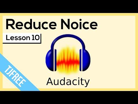 Audacity Lesson 10 - Noise Reducation