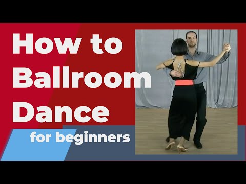 How to Ballroom dance for beginners - simple dance moves