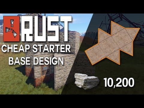 BUILDING 3.0 RUST STARTER BASE DESIGN - Rust Base Building (10,000 Stone)