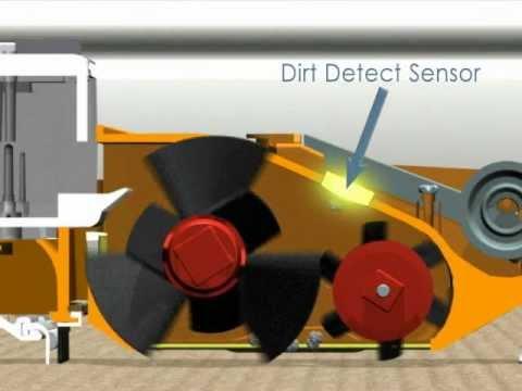 iRobot Roomba Dirt Detection Fuction