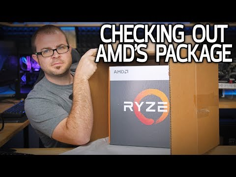 Probably the 7th AMD Ryzen APU Unboxing on YouTube