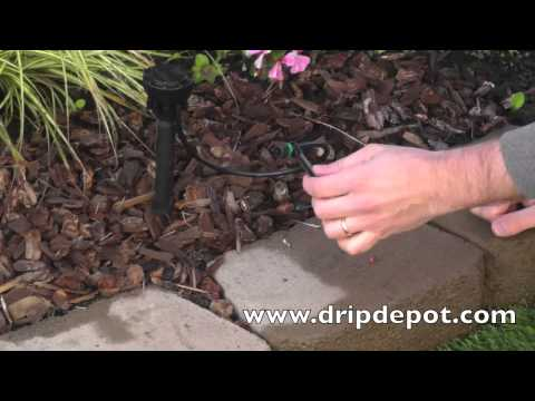 How to Convert a Sprinkler to Drip Irrigation