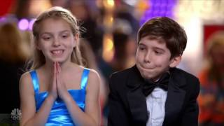 Talent Brother and Sister Magician Full Audition Clip S11E05-  America