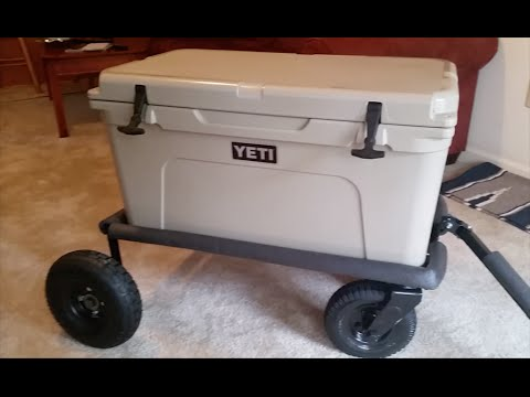 Build a Cheap Yeti Cooler Cart From Scrap Metal