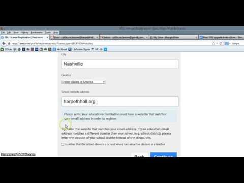 Registering for a Prezi EDU Account