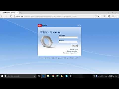 Maximo Automation Script Tutorial