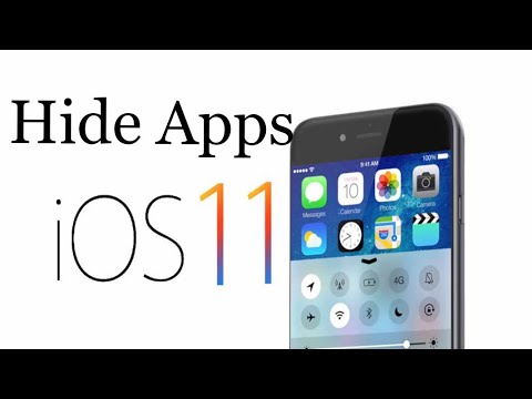 How to hide apps on iPhone 5,5s,6,6+,6s+,7,7+,X in iOS 11