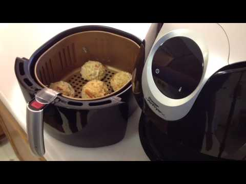 Power Air Fryer XL Crab Cakes