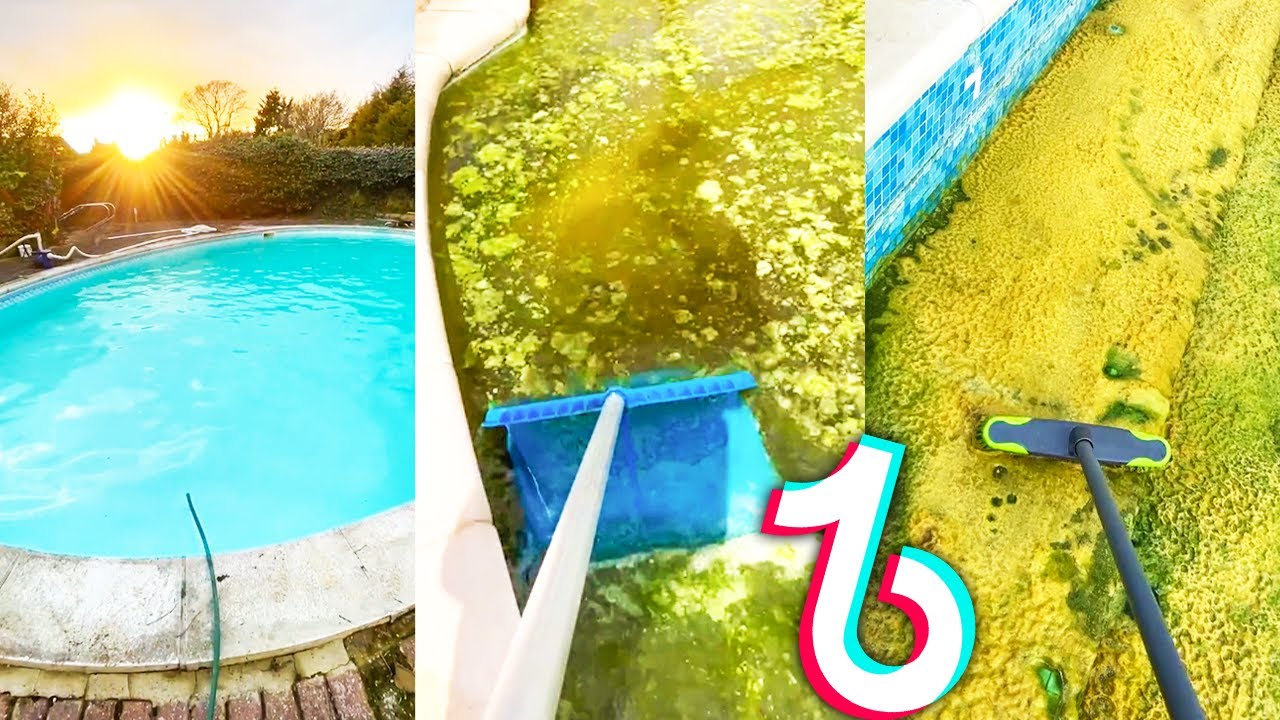 Pool Cleaning TikTok Compilation