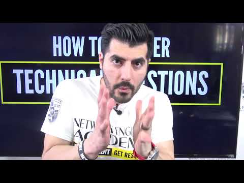How to answer TECHNICAL QUESTIONS - Be different & Get Results Network & System Engineers