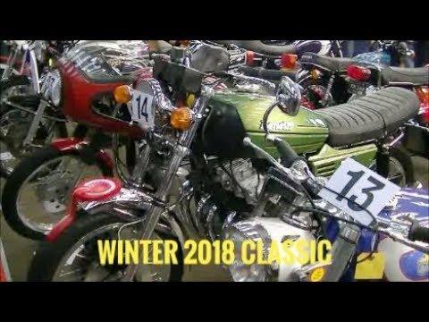 Newark Showground winter 2018 classic bike 3