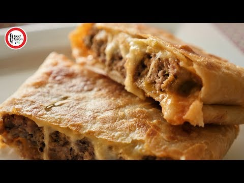 Beef Burger Paratha Recipe By Food Fusion