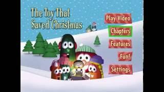 veggietales the toy that saved christmas menu walkthrough - The Toy That Saved Christmas