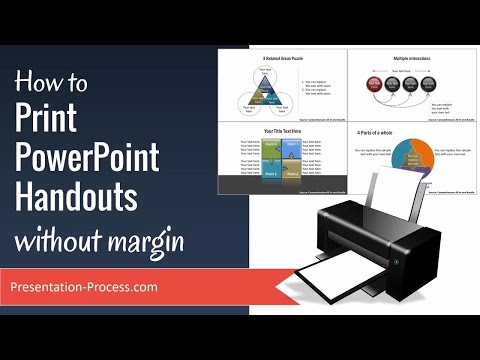Print PowerPoint Handouts without margin