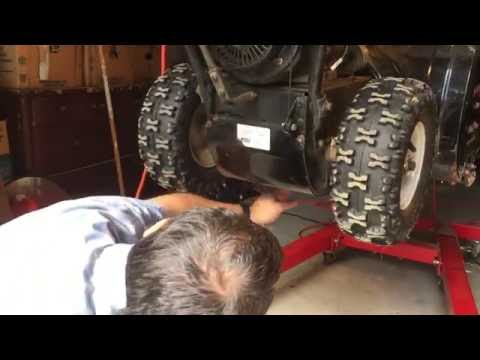 Snow blower belt replacement Troy built 10hp