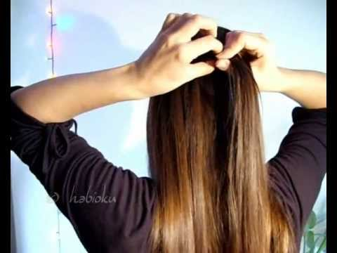 Fairytale/waterfall braid and variation