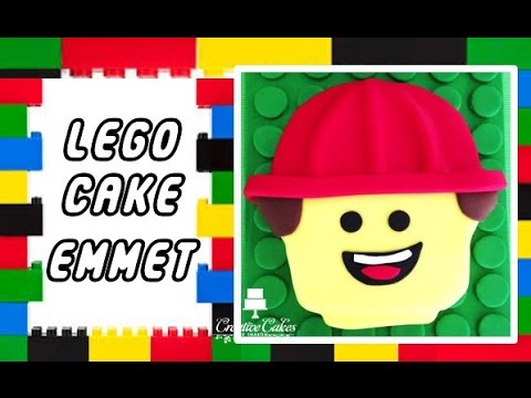 Lego Movie Cake - Emmet (How to make)