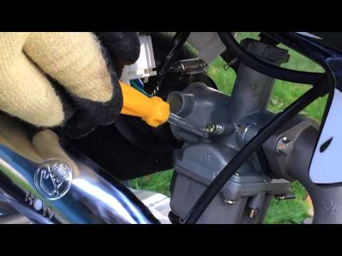 Adjust Carburetor on a SSR Pit Bike