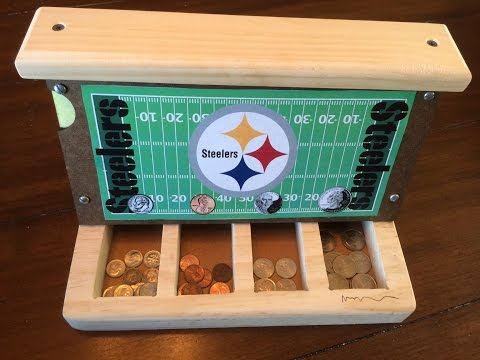 Coin Sorter Woodworking Project For Kids Easy!