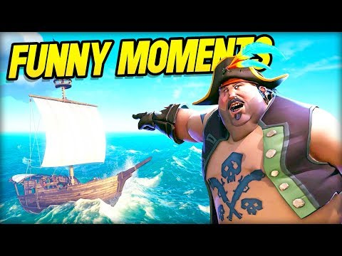Sea of Thieves Funny Moments - We Hired a Skipper!