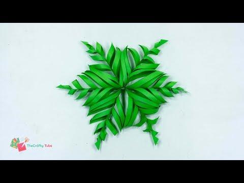 Snowflake Christmas Star - How to Make A Beautiful Snowflake Christmas Star - Christmas Crafts