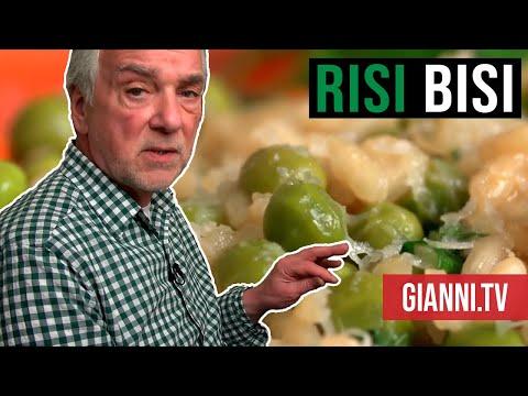 Venetian rice and spring peas: Risi e Bisi, Italian recipe - Gianni's North Beach