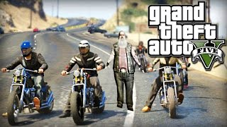 GTA V Online: MOTOQUEIROS ASSASSINOS! (Pac, Mike e Batista) #1