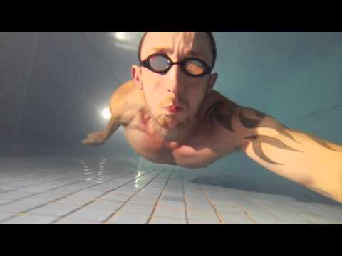 Underwater swimming for lung power