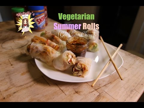 How to Make Vegetarian Summer Rolls (Gỏi Cuốn Chay)