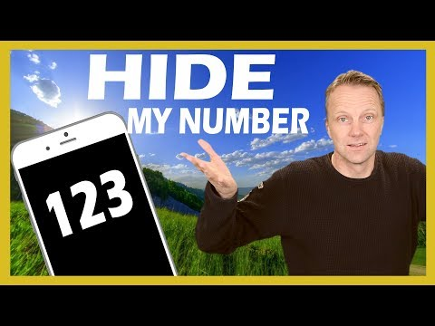 How to Hide my number or Caller ID on iPhone 2018
