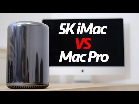 5K Retina iMac VS 6 Core New Mac Pro ~ 4K Video Editing Comparison - Final Cut / Premiere Pro